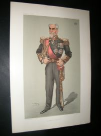 Vanity Fair Print 1903 Earl of Clanwilliam, Naval